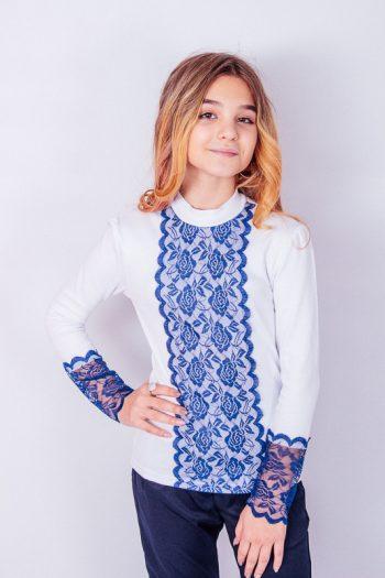 "Блуза для девочки ""Кружево"""