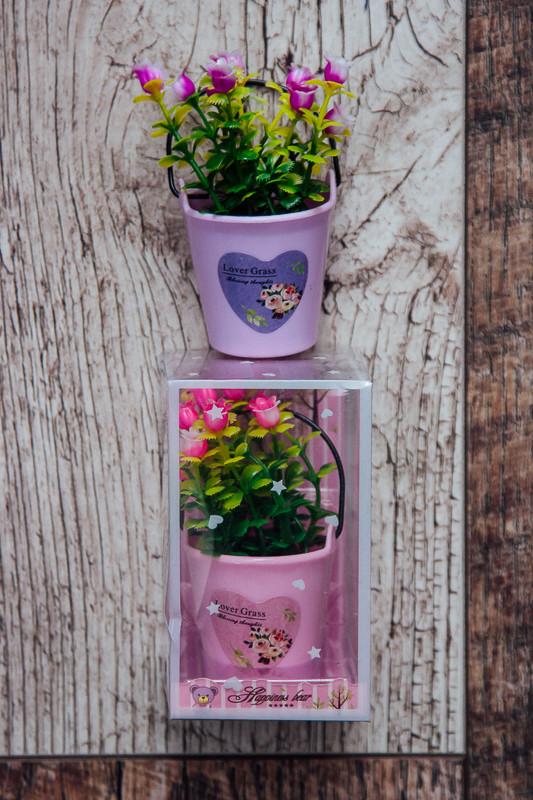 Цветы в ведерочке