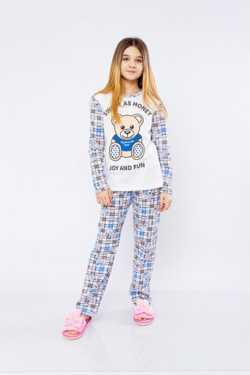 Піжама для дівчинки (підліткова)