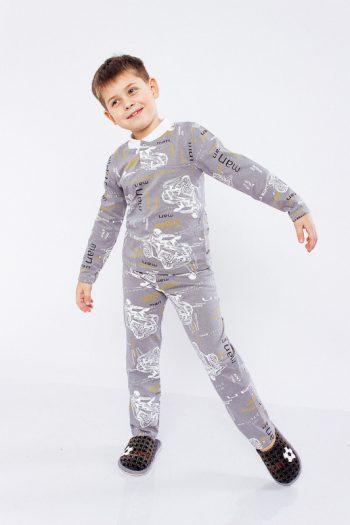 Пижама для мальчика на 2 кнопках