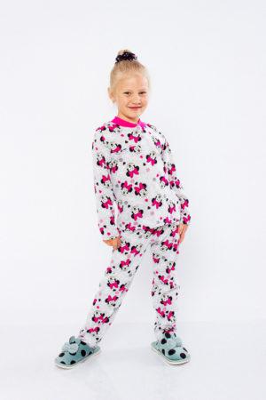 Пижама для девочки на 2 кнопках