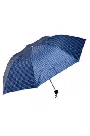 Зонтик мужской складной механический в клетку
