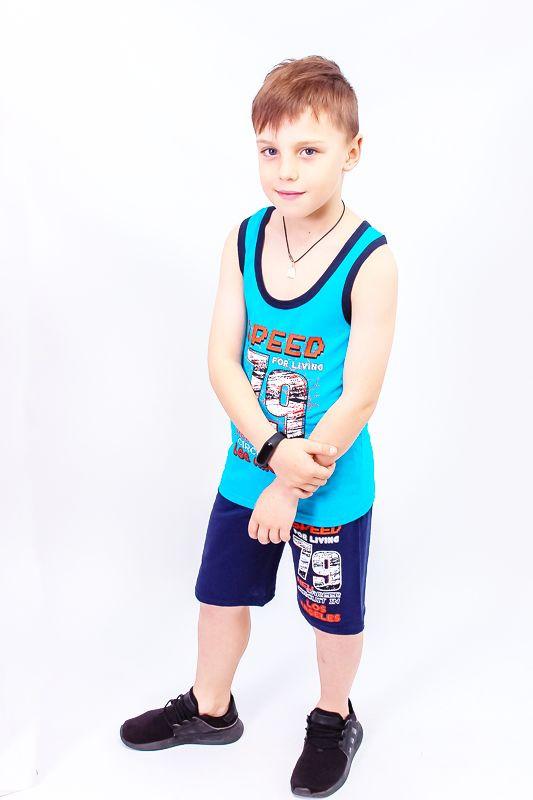 Комплект для хлопчика (борцівське + шорти)