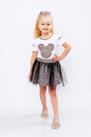 Комплект для девочки (блуза+юбка)