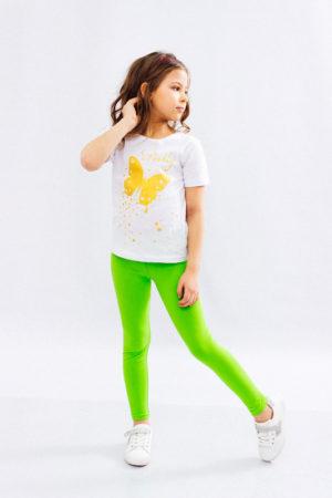 Комплект для девочки (футболка+лосины)