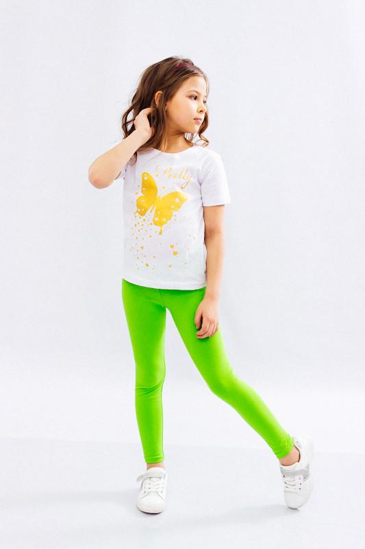 Комплект для дівчинки (футболка + лосини)
