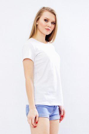 Белая женская футболка - 44 р