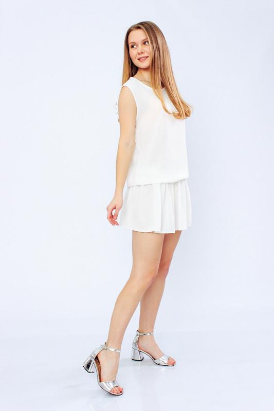 Платье женское белое