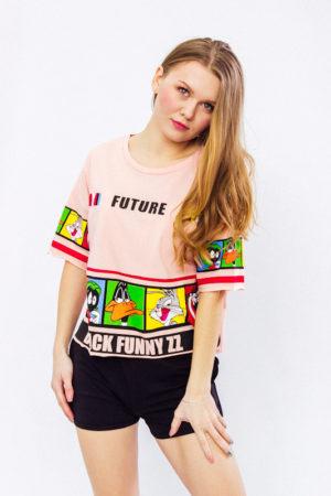 "Футболка-топ женский ""Future"""