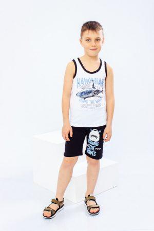 Комплект для мальчика (борцовка+шорты)