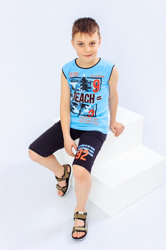 Комплект для мальчика (афганка+шорты)