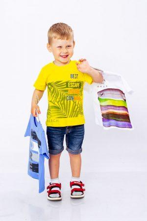 Набор футболок для мальчика (3шт.)