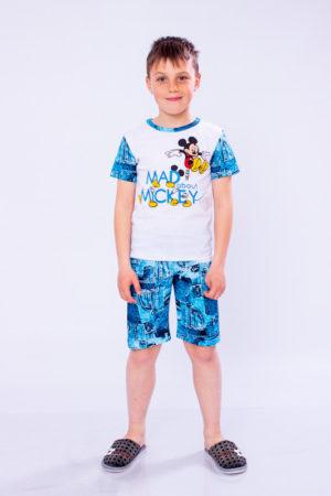 Пижама для мальчика (футболка+шорты)
