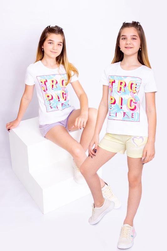 Набір шорт для дівчинки (підлітковий (2шт.))