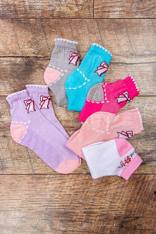 Носки для девочки (лето)