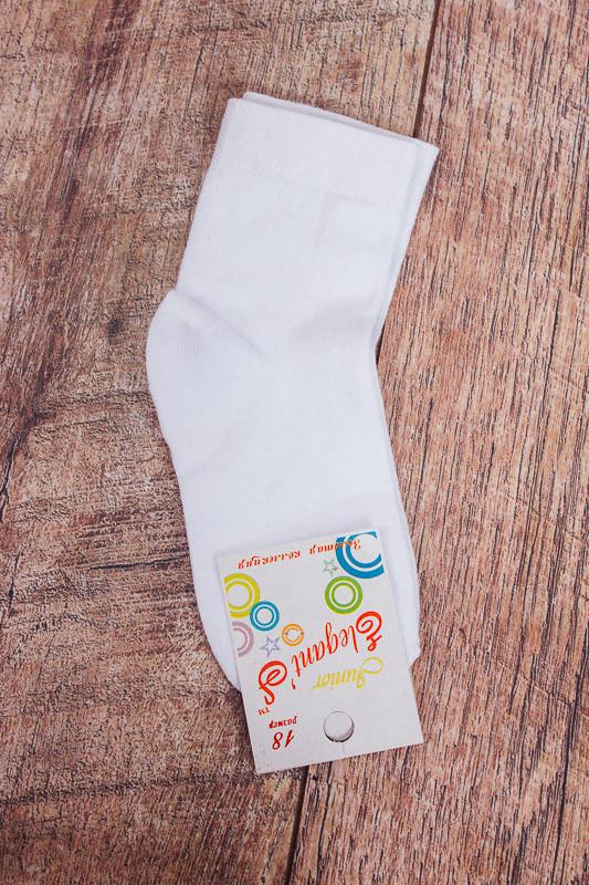 Шкарпетки дитячі білі