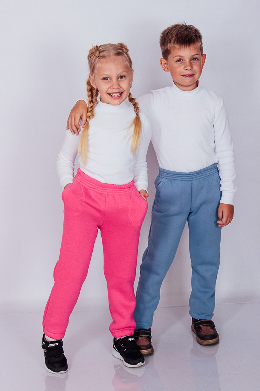 Теплые детские брюки
