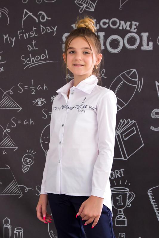 Рубашка школьная для девочки