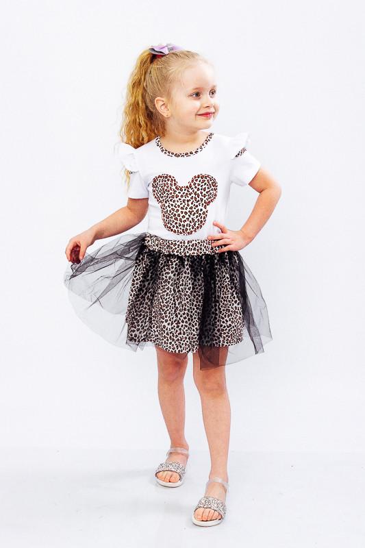 Комплект для дівчинки (блуза + спідниця)