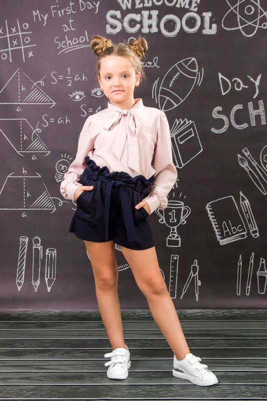 Шорты школьные для девочки