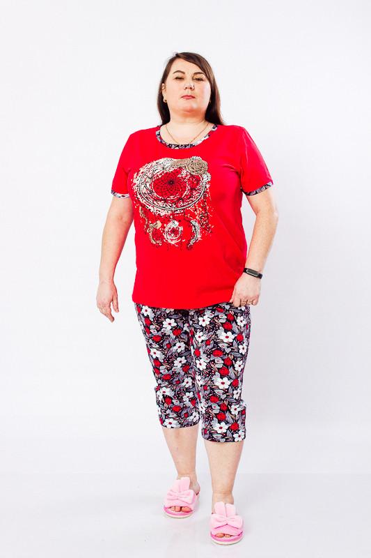 Комплект женский (футболка+бриджи)