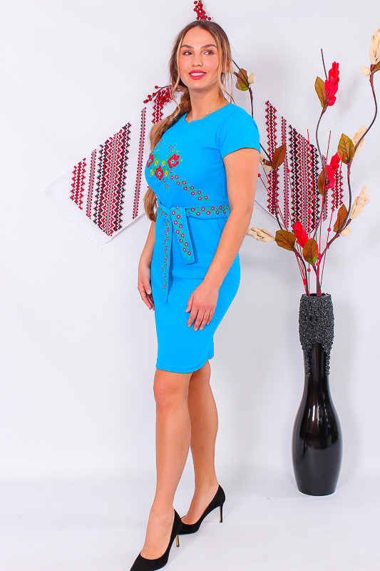 Плаття-Вишиванка жіноча (подовжене)