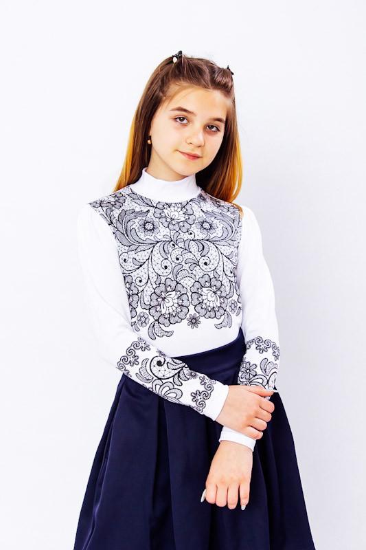 """Блуза для девочки """"Узор"""""""