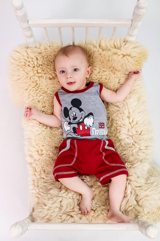 Комплект ясельный для мальчика (боди+шорты) 5049-015-33