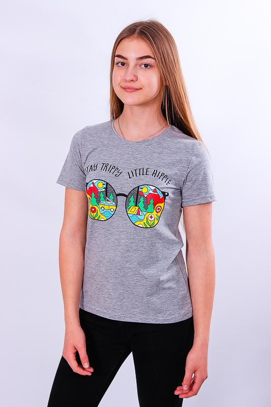Футболка для девочки (подростковая) 6012-036-33