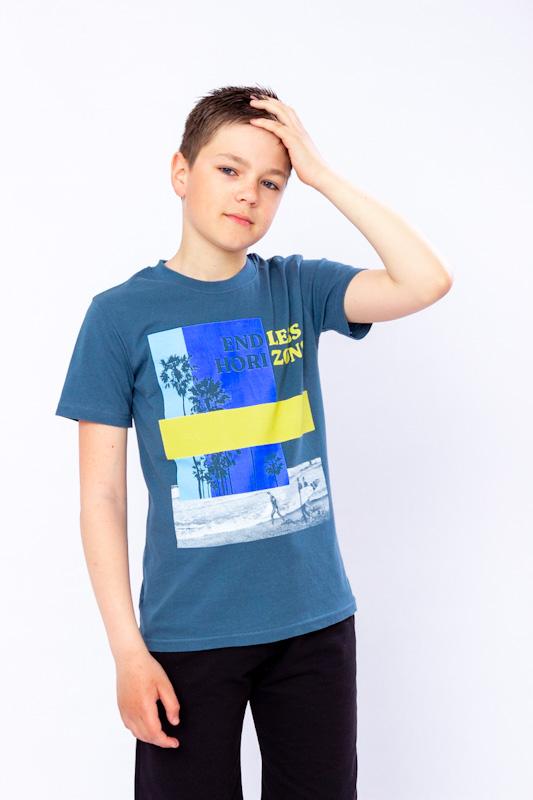 Футболка для мальчика (подростковая) 6021-4