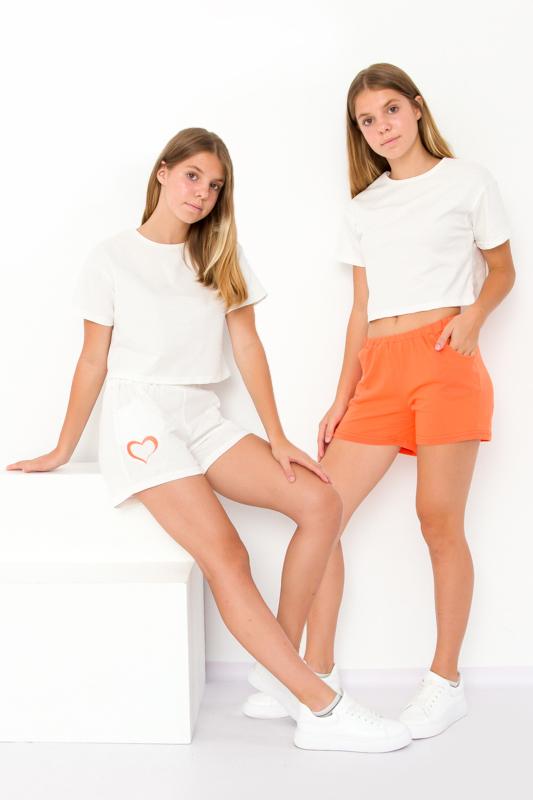 Набор шорт для девочки (подростковый (2шт.)) 6033-1