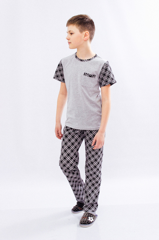 Пижама для мальчика (подростковая) 6076-002-1