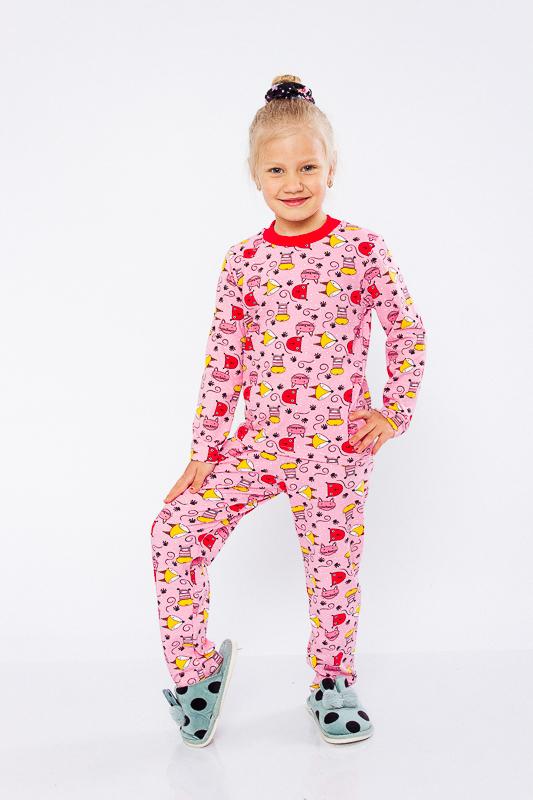 Пижама для девочки 6076-002-5
