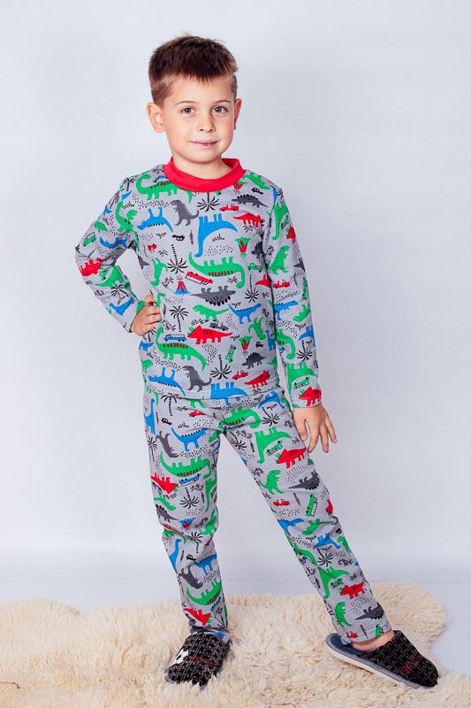 Пижама для мальчика (теплая) 6076-024-4