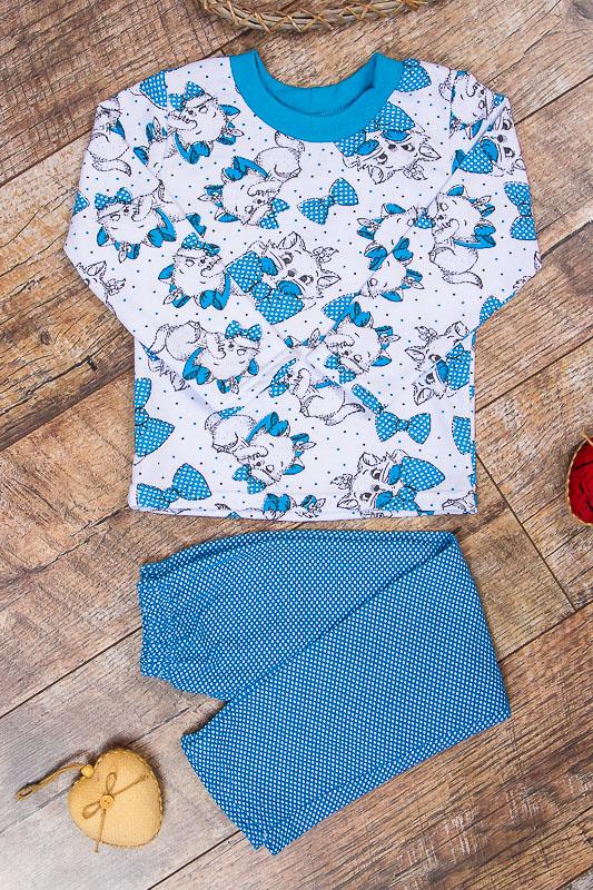 Пижама для девочки (теплая) 6076-024-5