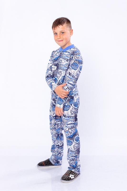 Пижама детская на 2 кнопках 6077-002-4