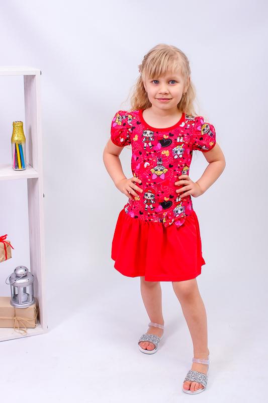 Платье для девочки 6098-002