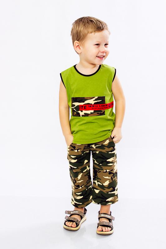 Комплект для мальчика (афганка+бриджи) 6116-055