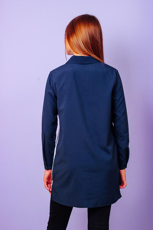 Блуза школьная с накатом 6142-066-33