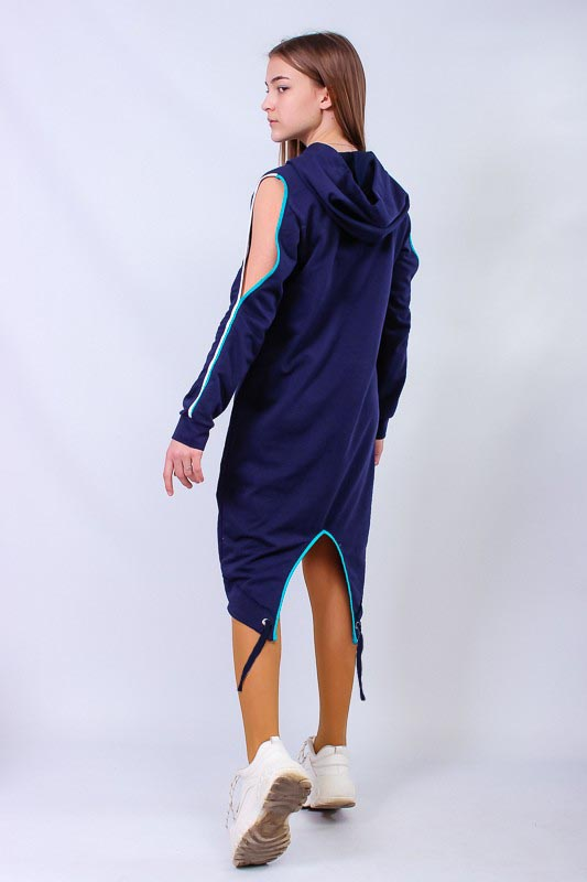 Платье спортивное для девочки (подростковое) 6165-057