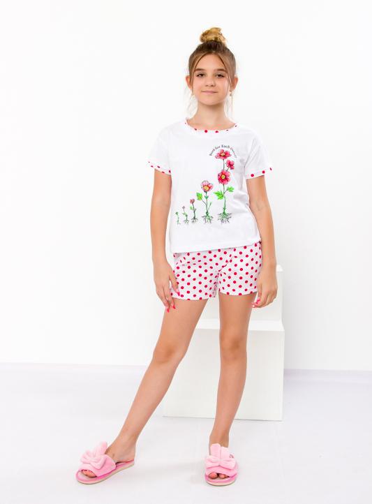 Комплект спальный для девочки (подростковый) (футболка+шорты) 6178-002-33