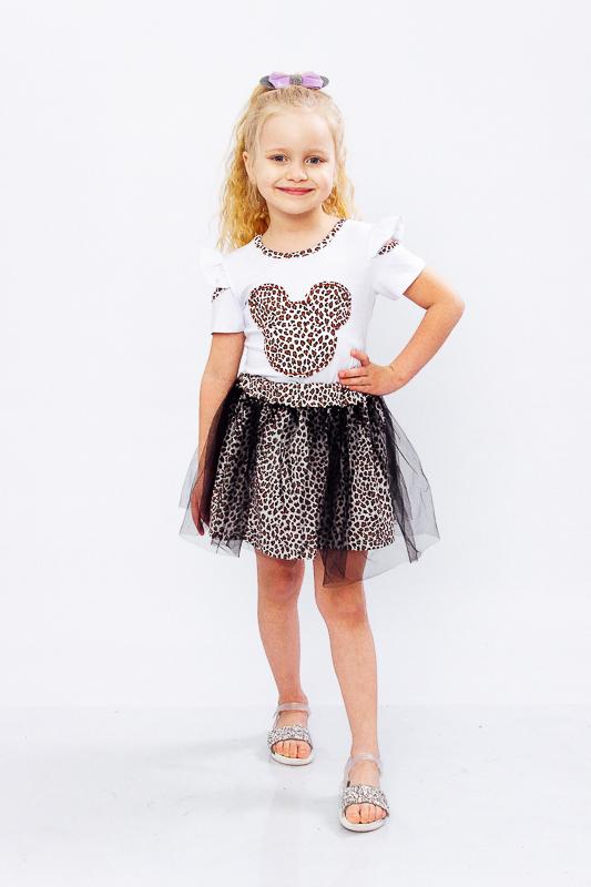 Комплект для девочки (блуза+юбка) 6188-036-22