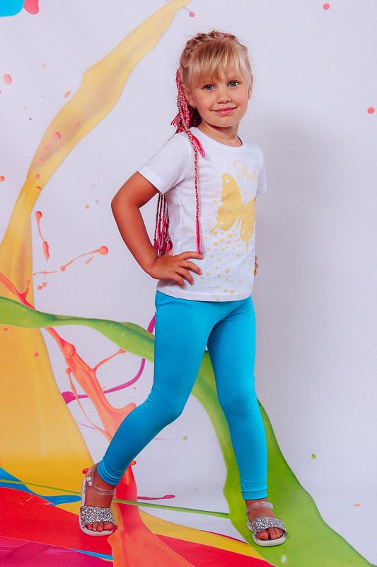 Комплект для девочки (футболка+лосины) 6194-036-33