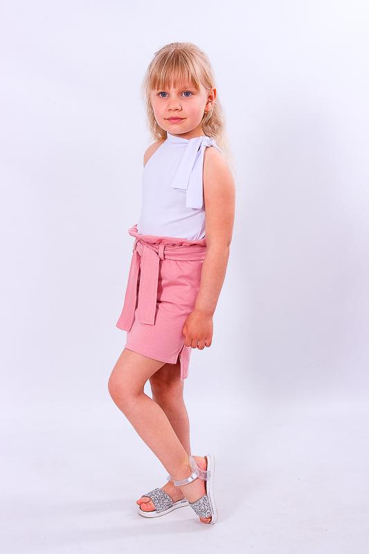 Комплект для девочки (блуза+юбка) 6195-036