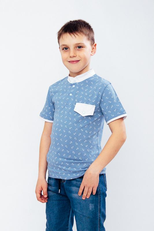 Футболка-поло для мальчика 6200-002
