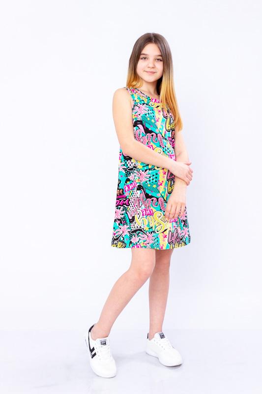 Платье для для девочки (подростковое) 6205-002-1