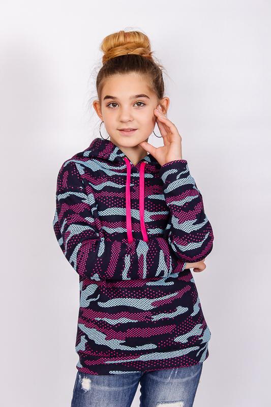 Худи для девочки (подростковое) 6230-058