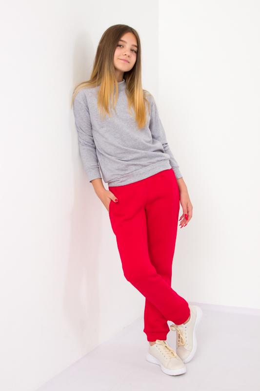 Теплые брюки для девочки (подростковые) 6231-025
