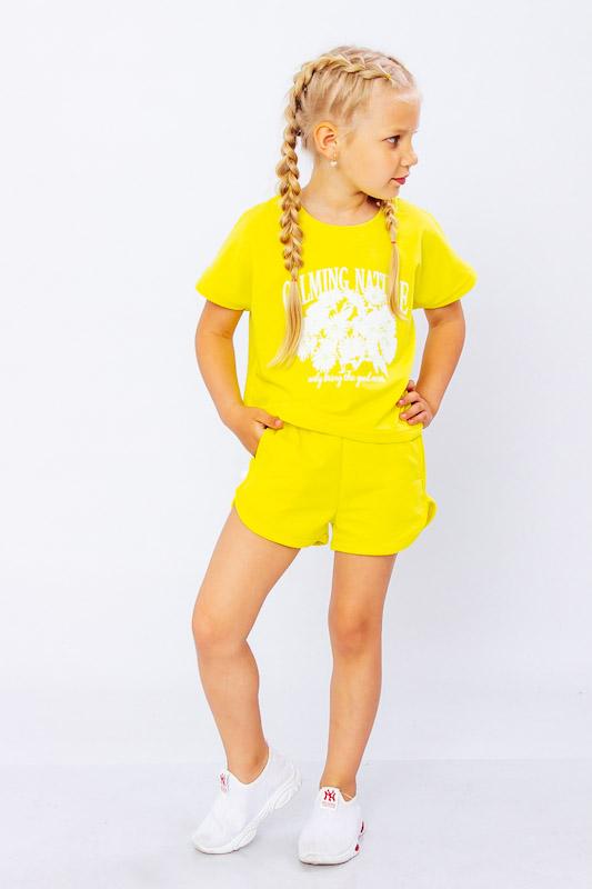 Комплект для девочки (футболка+шорты) 6243-057-33-1