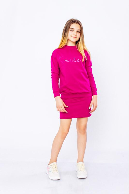 Комплект для девочки (джемпер+юбка) 6253-057-33